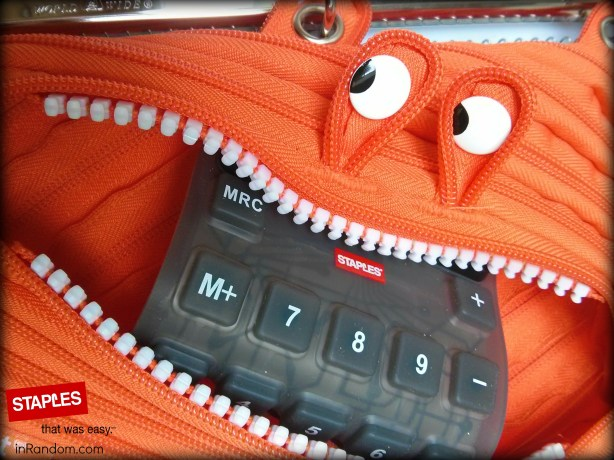 Staples Monster Pouch