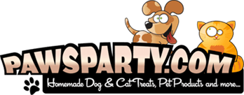 PawsParty.com logo