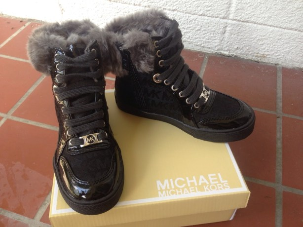MICHAEL Michael Kors Ivy High Fur boots