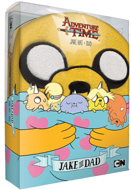 Adventure Time: Jake the Dad on DVD