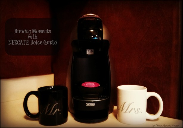 Brewing Moments with NESCAFÉ Dolce Gusto