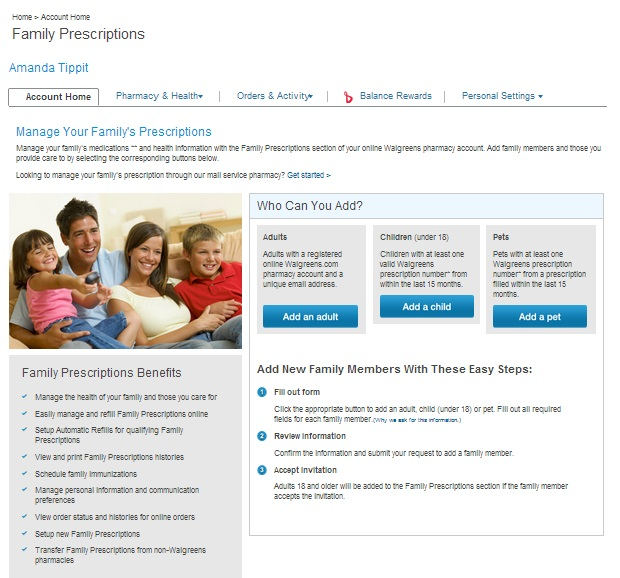 Refill Options for Families Walgreens #shop