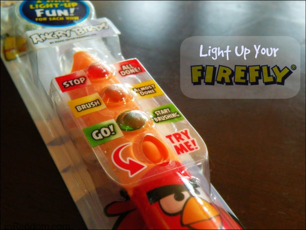 Light Up Your Firefly Toothbrush