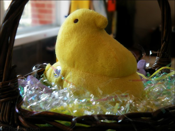 Peeps in a Basket