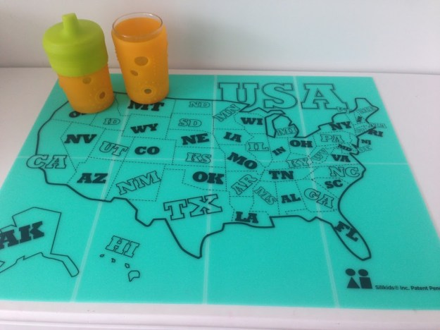 Silikids safe silicone placemats