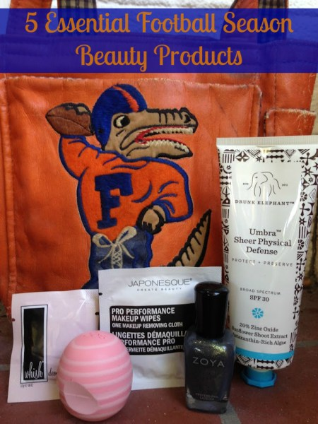 5 Essential Football Season Beauty Products
