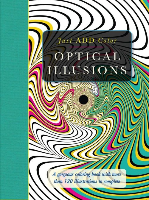 Just ADD Color Optical Illusions Coloring Book