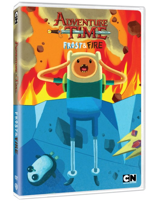 Adventure Time Frost & Fire Cover
