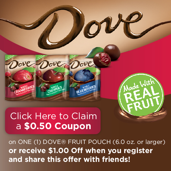 MARS Dove Fruits Coupon #CollectiveBias