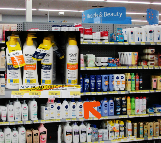 NO-AD Suncare at Walmart #cbias #shop