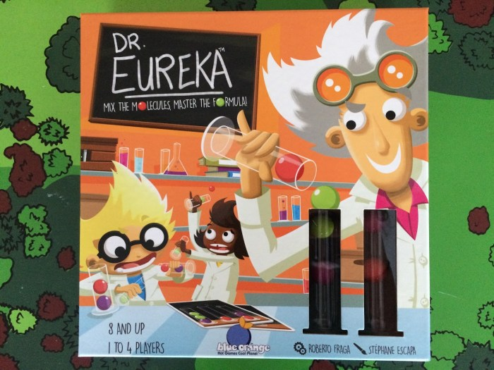 Dr. Eureka from Blue Orange Games