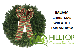 Hilltop Christmas Trees & Wreaths Delivered Right To Your Door