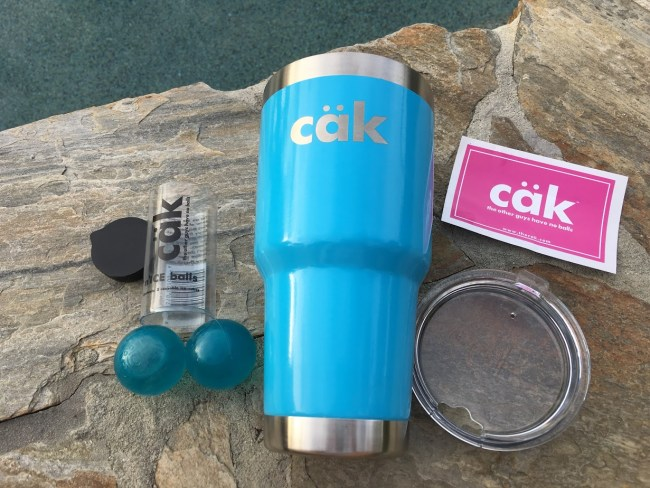 Lounging Around With My cäk Tumbler & Balls