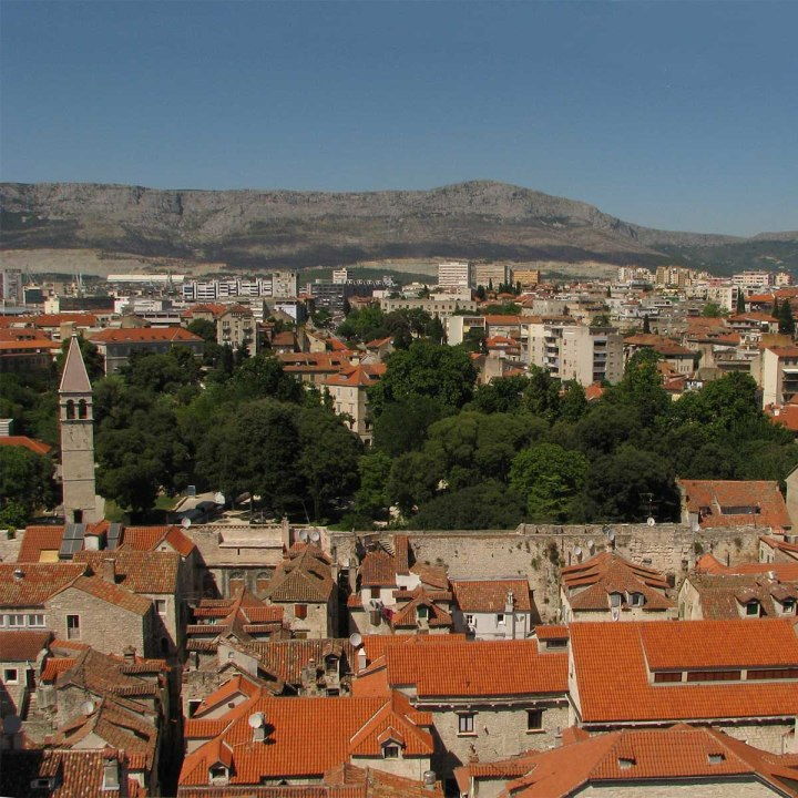 La Dalmatie partie 2 : un jour à Split, le palais devenu ville