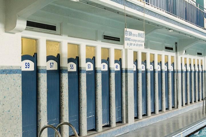 les mosaïques Odorico de la piscine Saint Georges, à Rennes
