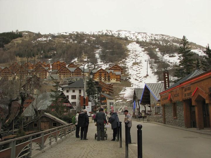 la station de ski de Valloire, en Savoie