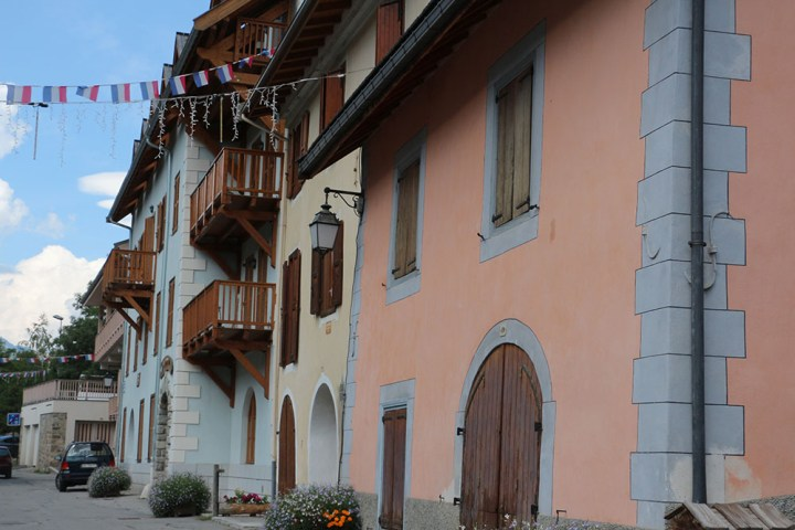 Serre-Chevalier, le village de La Salle-les-Alpes