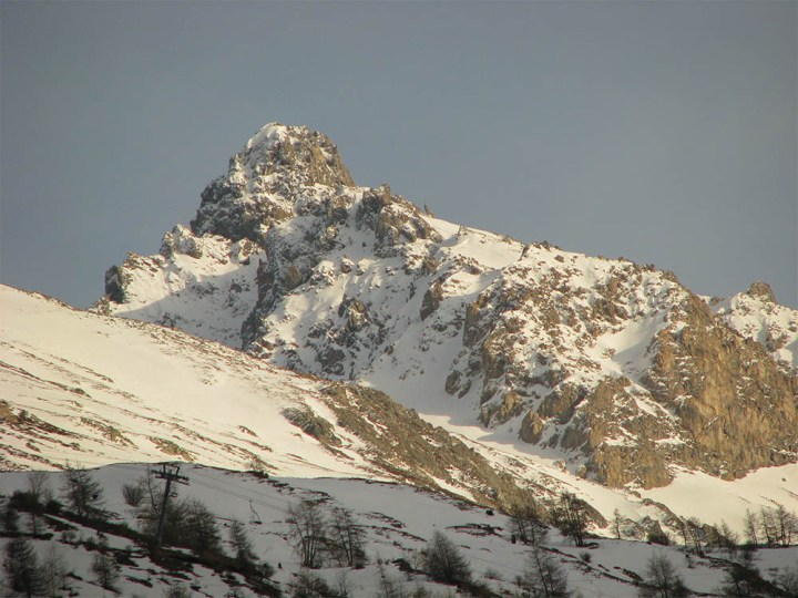 montagne à Valloire (Savoie)