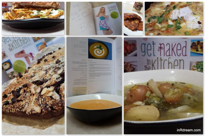 """Briana Santoro""""Get Naked In The Kitchen"""" Cookbook Review"""