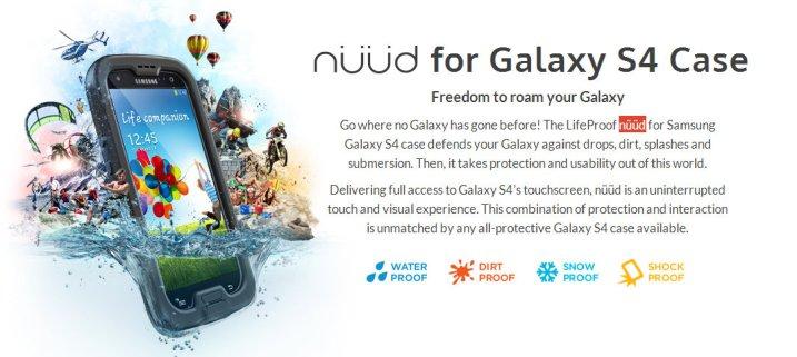 Galaxy S4 Nuud  LifeProof - PTPA winner