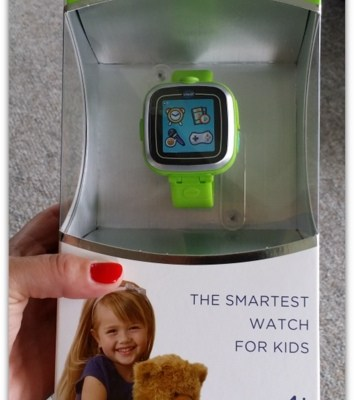 Teach Kids To Tell Time: VTech Kidizoom Smartwatch Review