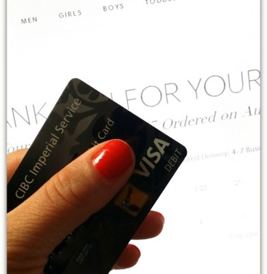 Back to School With Visa Debit Card & Joe Fresh #VisaBacktoSchool