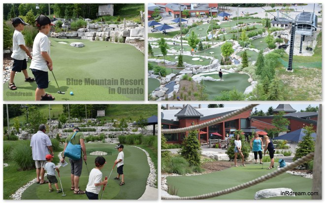 Cascade Putting Course at Blue Mountain Resort
