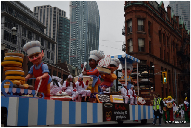 Toronto Santa Claus Parade 2014 Tim Hortons