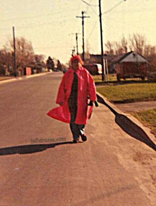 School Crossing guard with 20 years of service in Toronto, Tide Coldwater Hero, #TideColdHero #PGmom P&G MOM, P&GMom,