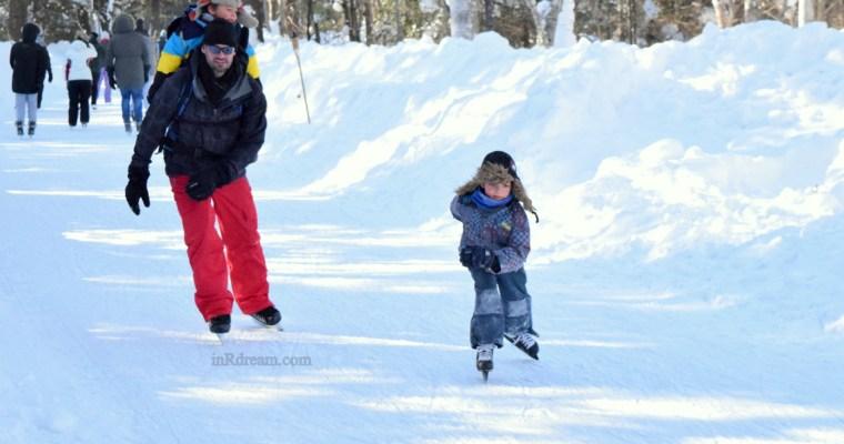 Discover Muskoka: Arrowhead Provincial Park Ice Skating Trail