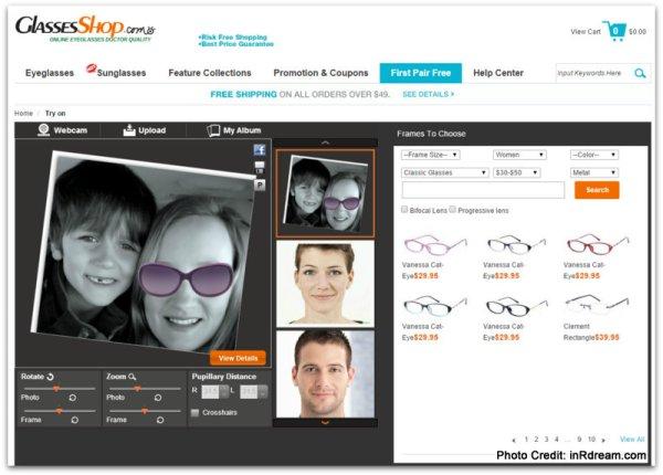 GlassesShop.com Cheap sunglasses