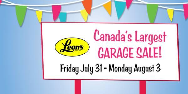 Leons Garage Sale Tips
