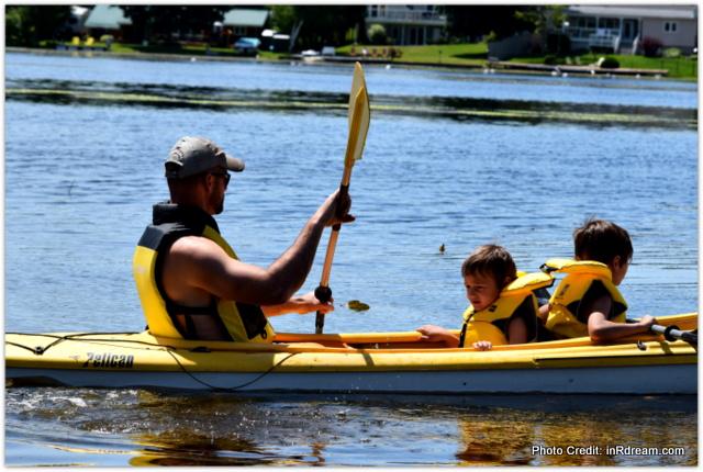 Kayaking Emily Park, Ontario Parks, Canada Lifestyle Blogger