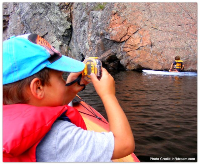 Bon Echo Provincial Park Seen through the eyes of a child