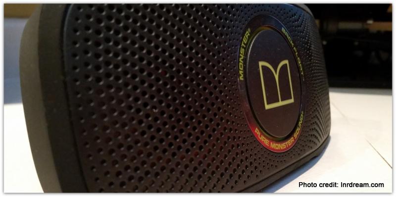 Monster SuperStar BackFloat review, waterproof speaker,