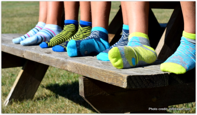 Back To School Stride With Happy Foot Socks By McGregor
