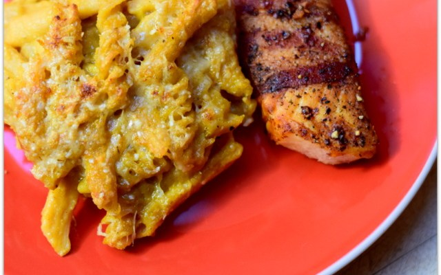 Stop Sacrificing Nutrition: Cheesy Butternut Chickapea Pasta Recipe