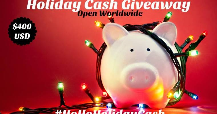 How would you spend $400 USD PayPal cash if you won this Worldwide #HoHoHolidayCash Giveaway?