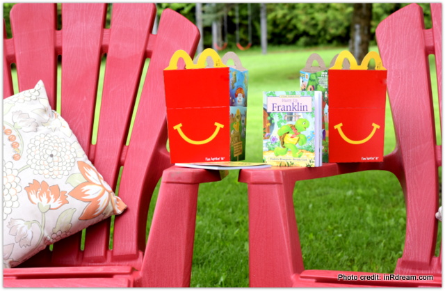#happymealbooks, McDonalds Canada, Happy Meal Books, Tips to keep reading all summer, Keep kids busy this summer, Reading this summer, Kids reading, Canadian Authors, New books at McDonalds