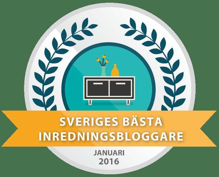 Sveriges bästa inredningsbloggare