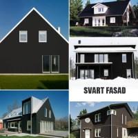 Behöver råd om svart fasad
