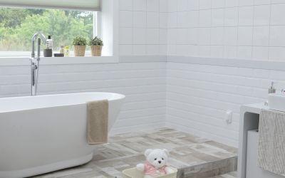 Pedalhink till badrum