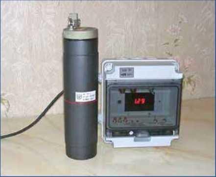 Радиоизотопный релейный прибор РРП-3М