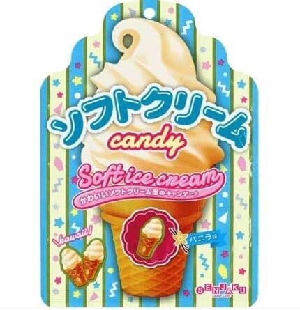 oleh-oleh dari jepang di indonesia. Senjaku Vanilla Soft Ice Cream Candy