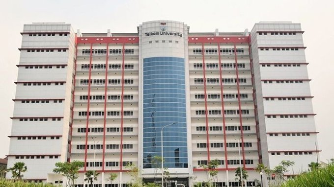 gedung kampus telkom university