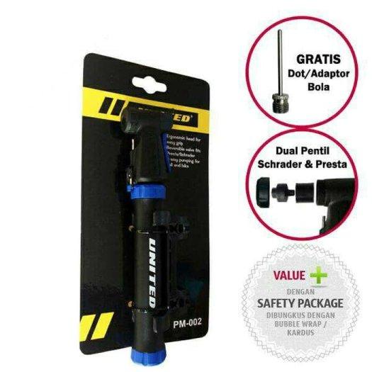 Aksesoris sepeda: Pompa sepeda mini