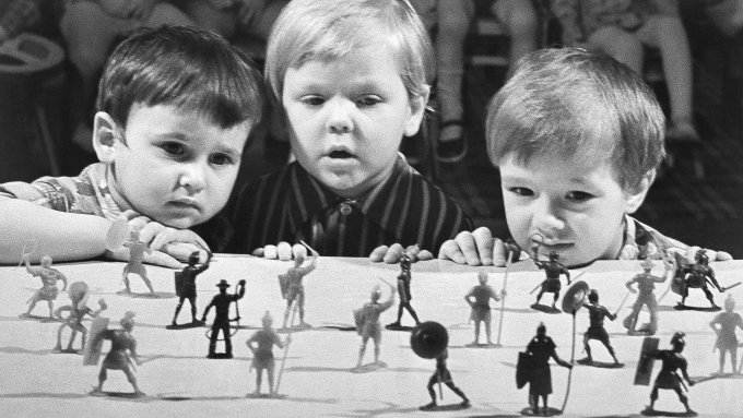 Mainan Tentara Rusia (Uni Soviet)