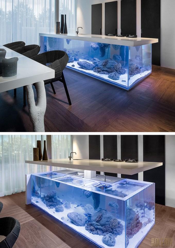 14 Desain Aquarium Unik dan Cara Membuatnya - inReview.id