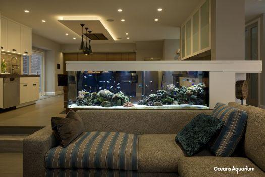 Aquarium Sekat Ruangan unik