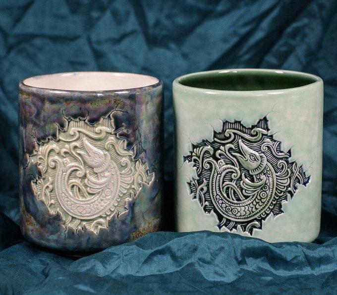 mug, cangkir, gelas, alat makan buah tangan khas rusia